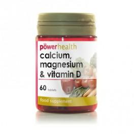Calcium, Magnesium and Vitamin D 60tb
